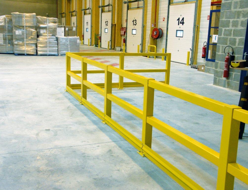 Barri re modulable d limitation de z ne for Barriere de protection